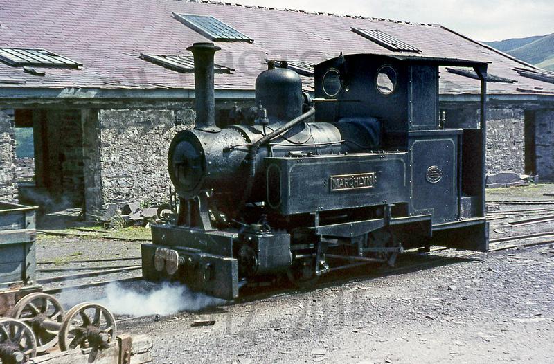 Rail Photoprints: Welsh Quarry Railways &emdash; Marchlyn  Penrhyn  1963   AJD100