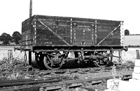 7 Board single Door Coal wagon Rolvenden 0753 RPC979