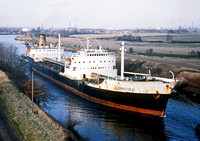 Thermopylae Manchester Ship Canal 1981 RPC641