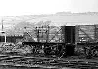 4 wheel Coal wagon P89458 Pontypool Road 1953 RPC984