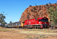NR109 The Ghan  Alice Springs 041009 PB009