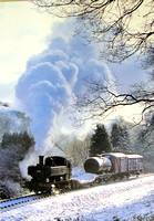 Steam Locomotive Greetings Cards