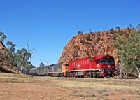 NR109 The Ghan  Alice Springs 041009  PB109