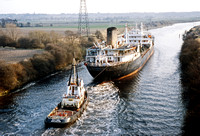 Thermopylae Manchester Ship Canal 1981 RPC643